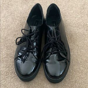 Forever 21 Faux Patent Leather Shoes